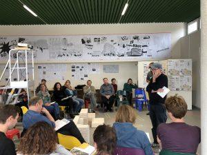 In Workshops ging es um Themen wie Initialnutzungen, Wohnmodelle, Bebauungsdichte, Bebauungsplan, nutzergetragene Stadtentwicklung und das Rathaus der Zukunft für Mitte ©ZKB