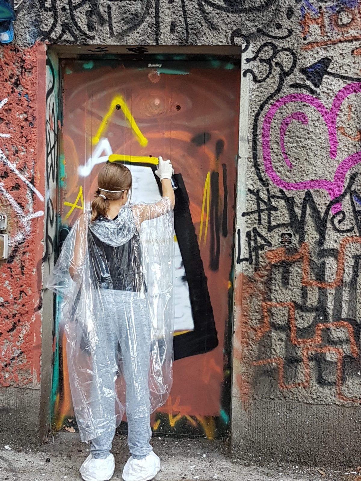 Graffiti Workshop im Haus der Statistik