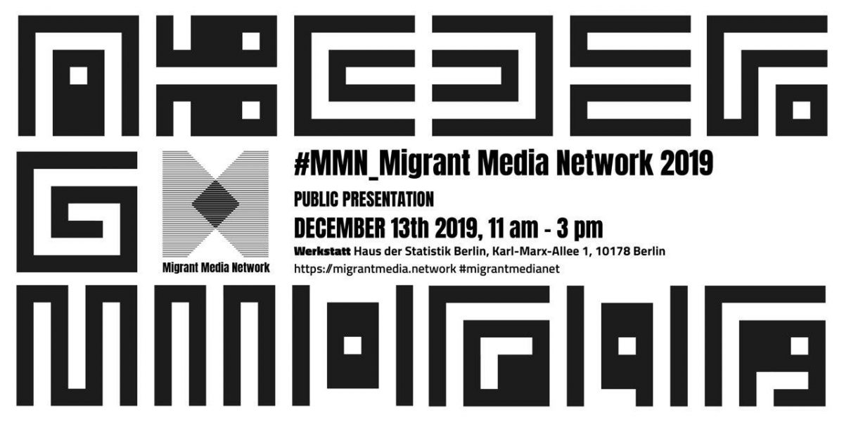 #MMN Migrant Media Network – Public Presentation