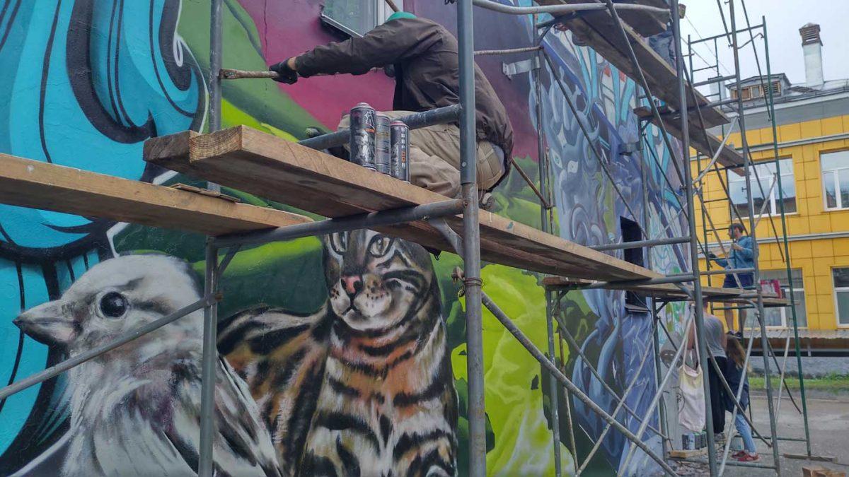 Graffiti Lobby Berlin