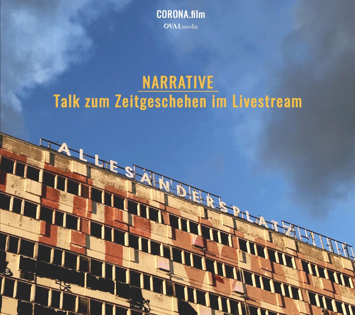 Narrative #3 – Livestream mit Prof. Dr. Martin Haditsch