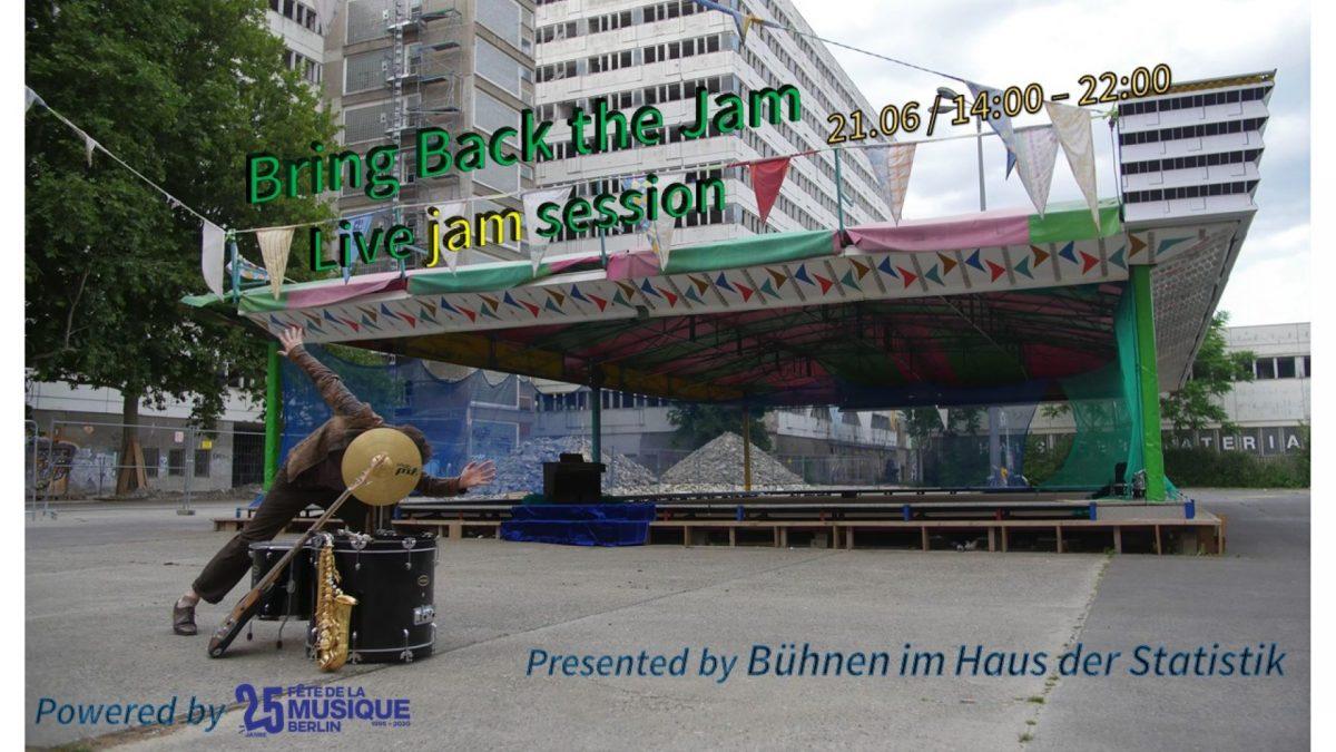 Bring Back the Jam – Livestream