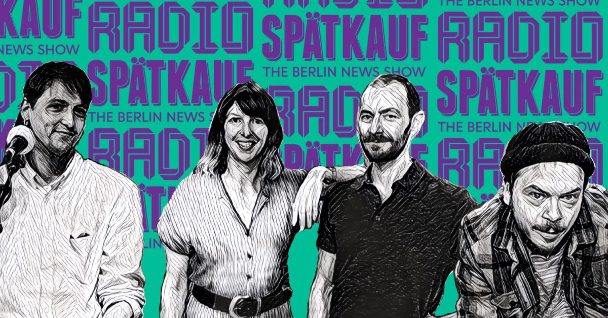 Radio Spaetkauf Podcast Recording