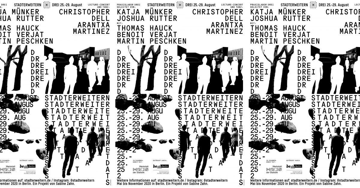 Stadterweitern LabDREI mit Katja Münker & Joshua Rutter