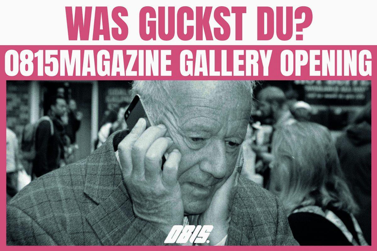 Ausstellung: 0815magazine gallery