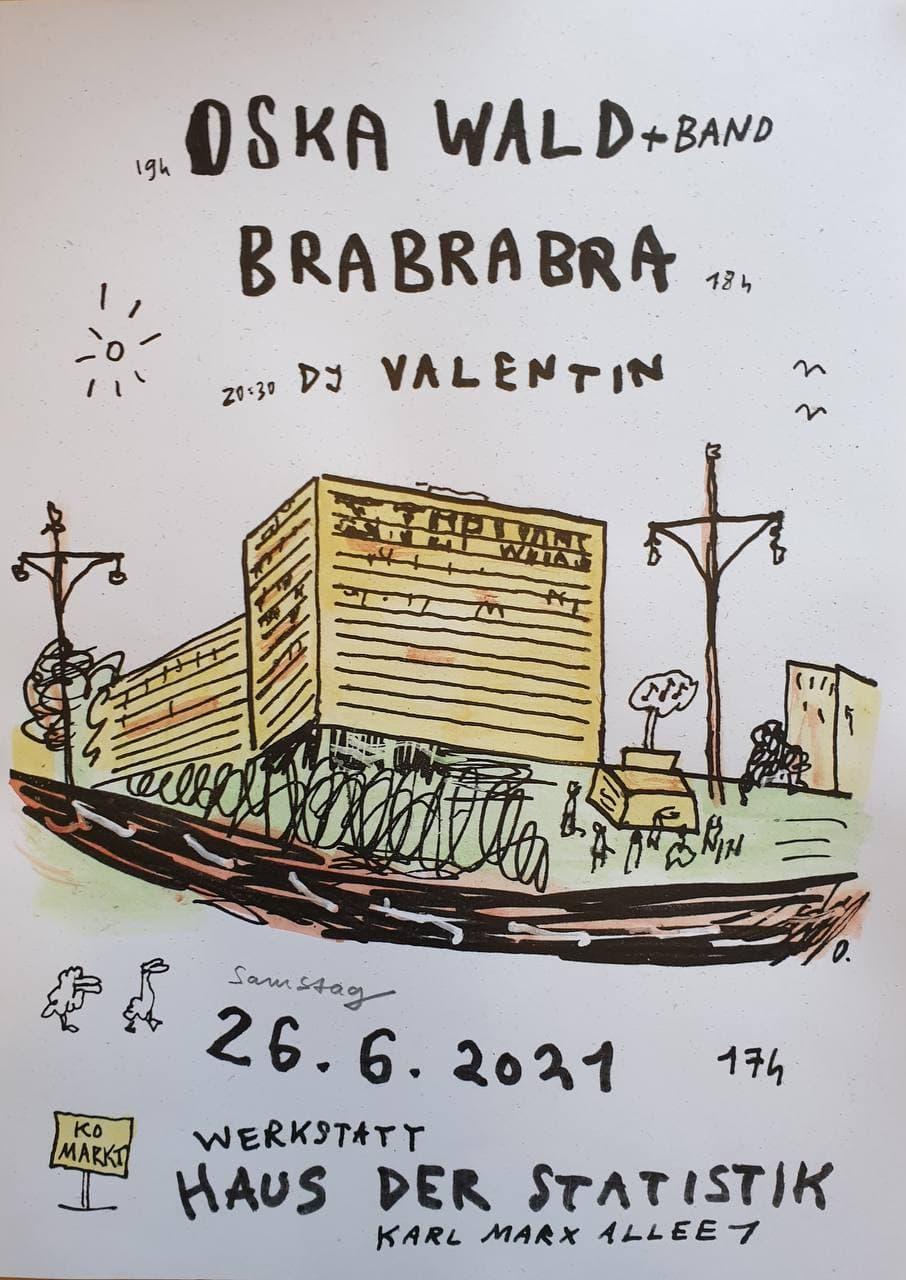 Konzert Brabrabra