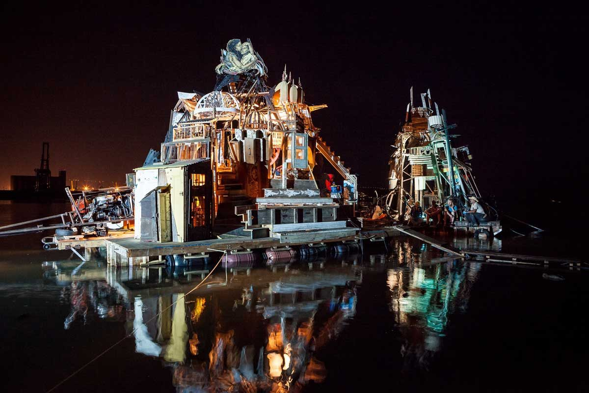 »Islands of Utopia«        Artist Talk & Konzert