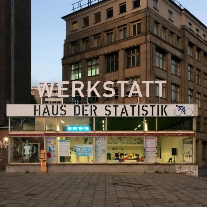 die WERKSTATT Haus der Statistik